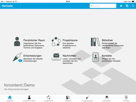 forcontent - Der Dokumentenmanager screenshot 2
