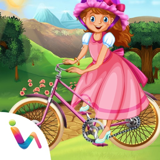 Princess Bicycle Fix it & Decoration Games For Girls iOS App