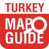 Turkey Guide Map central anatolia turkey map