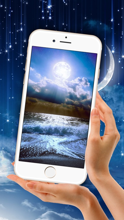 Moon Light Wallpaper Full Hd Star Ry Night Sky Background