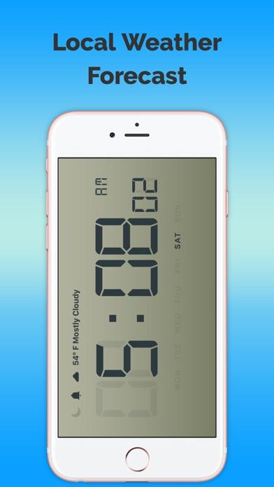Часы и местного прогноза погоды-FreeСкриншоты 1