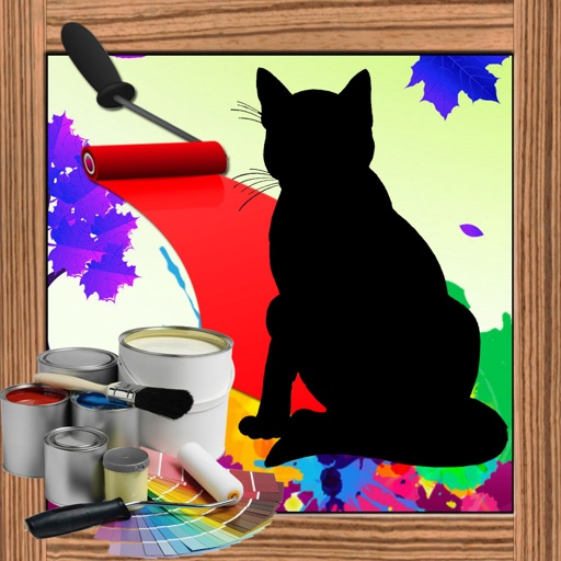 Color For Kids Game cat Edition iOS App