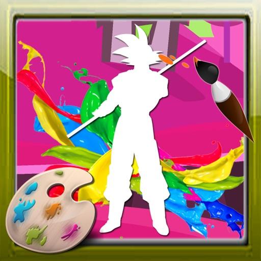 Color For Kids Games Goku Edition iOS App