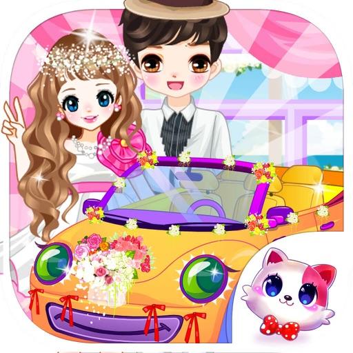Romantic Dreamy Wedding – Bride, Groom, Wedding Car Makeover Salon Game for Girls and Kids iOS App