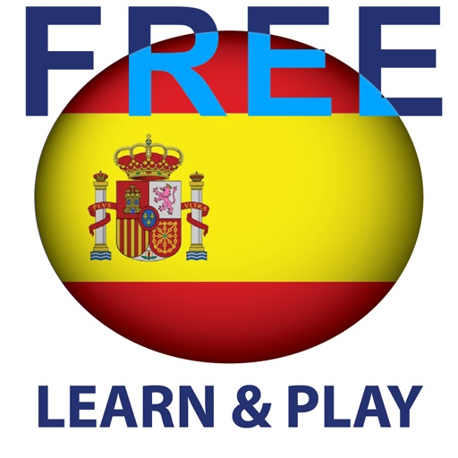 Learn and play Spanish free - Educational game. Words from different topics in pictures with pronunciation iOS App