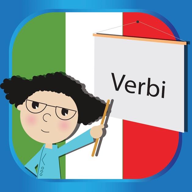 Tabelle dei verbi italiani sull 39 app store - Tavola dei verbi inglesi ...