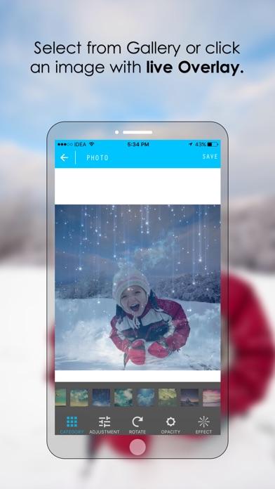Insta Bokeh - Overlay, Photo Effects FX & vintage texture Screenshot on iOS