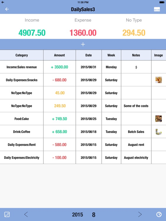 Daily Sales Tracker 3 HD-Inventory Tracker,Manager by yongwen hu