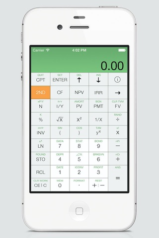 BA Financial Calculator Pro screenshot 2