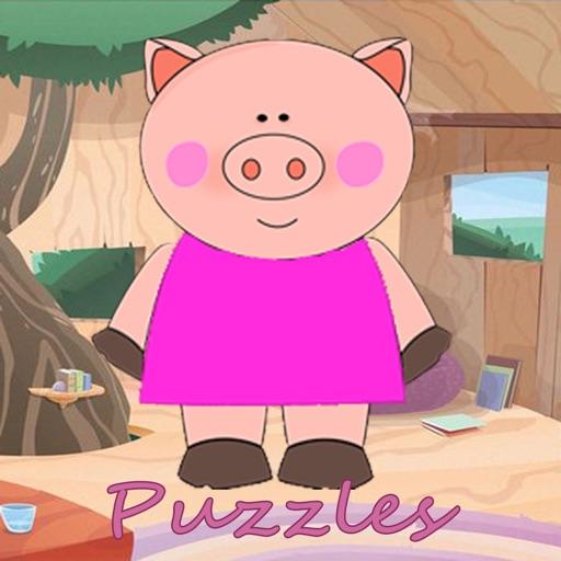 Peppi Pig Puzzles iOS App