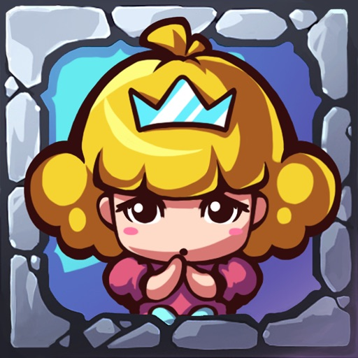 BubblePrincessRescue-A free bubble popping game