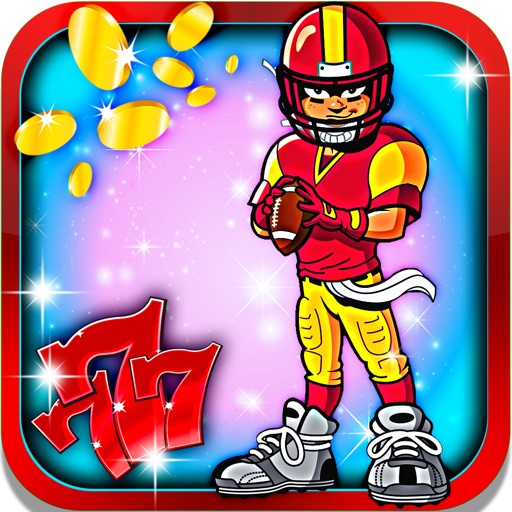 Rugby Slot Machine: Spin the great American Football Wheel and be the lucky winner iOS App