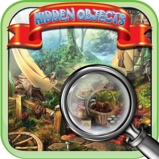 Camping Adventure Fun - Free Hidden Objects game iOS App