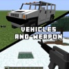 Vehicle and Weapon Mods for Minecraft PC