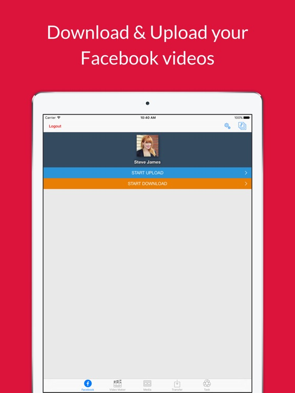 Video grabby free video save video editor on the app store ipad screenshot 3 ccuart Image collections