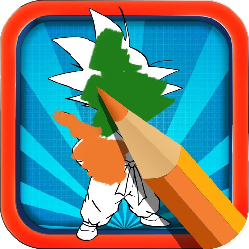Color Book Game for Kids: For Dragon Ball Z Version iOS App
