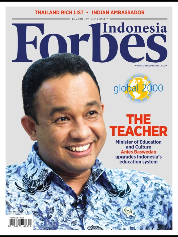 Forbes Indonesia iPad