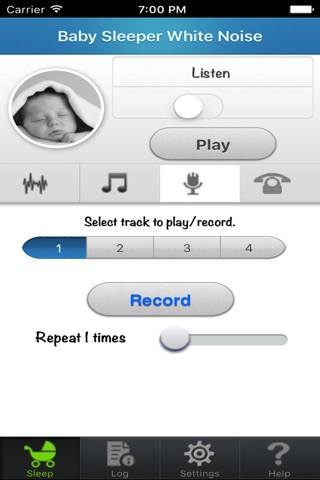 Baby Sleep White noise screenshot 3