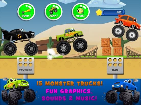 Monster Trucks Kids Racing Game для iPad
