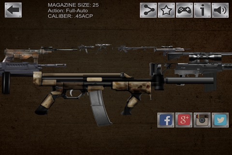 Gun Sim Weapons Pro screenshot 4