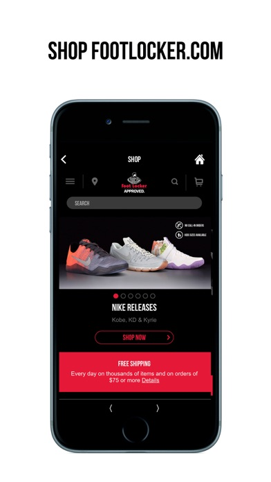 download Foot Locker apps 4