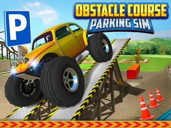 obstacle course extreme car parking simulator gratuit jeux de voiture de course dans l app store. Black Bedroom Furniture Sets. Home Design Ideas
