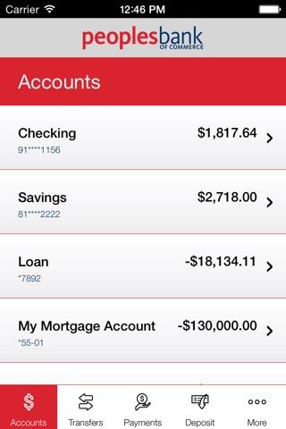 Peoples Bank of Commerce screenshot 3