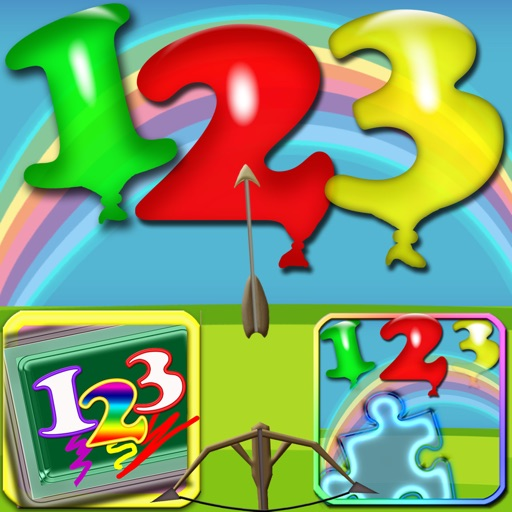 Numbers Games Collections Play & Learn To Count 123 iOS App