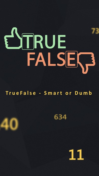 TrueFalse - Smart or Dumb Screenshot