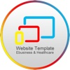 Website Template (E-business & Healthcare) With Html Files Pack1 2003 access templates