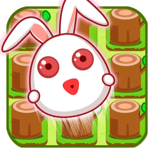Circle Naughty Rabbit Icon