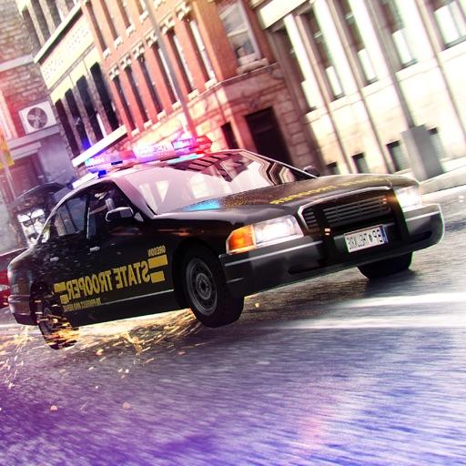 Police Car Driving Simulator Racing Game 3D iOS App