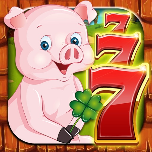 Pig Slots - Jackpot Casino: Free Little Piggies Lucky Slot Machines 777 Spin Party iOS App