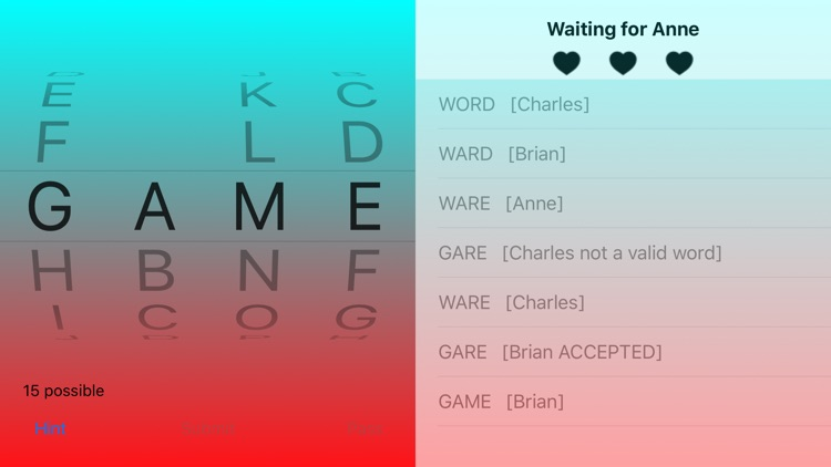 Four Letter Word Game By Russell Morgan