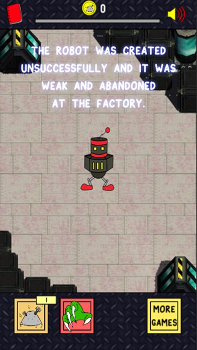 Robot Evolution | Clicker Игра крошечного роботы мутант Screenshot