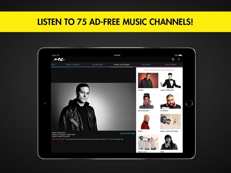 Music Choice for iPad by Music Choice
