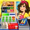 Mall & Shopping Supermarket Cash Register Simulator - Kids Cashier Games FREE