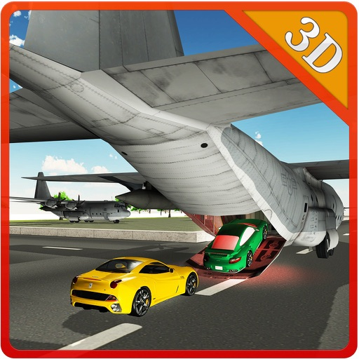 Cargo Airplane Car Transporter – Drive mega truck & fly plane in this simulator game Icon
