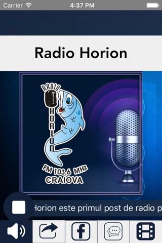 Radio Horion screenshot 1