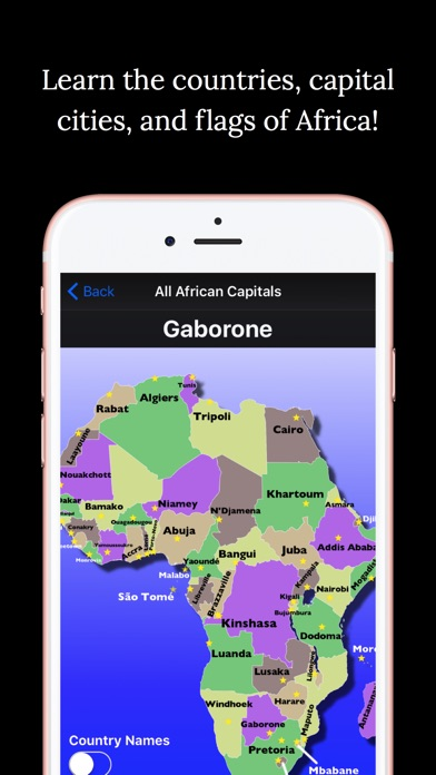 Africa geography quiz on the app store iphone screenshot 1 sciox Images