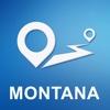 Montana Offline GPS Navigation & Maps