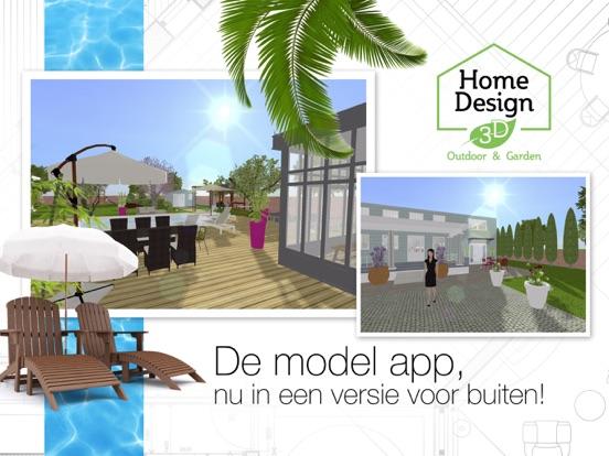 Home design 3d outdoor garden app voor iphone ipad en for Home design 3d ipad