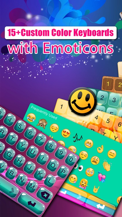 Custom Emoji Keyboard s for iPhone - Customize my Color Key