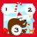 123疯狂计数冰,雪和圣诞动物:儿童学习游戏