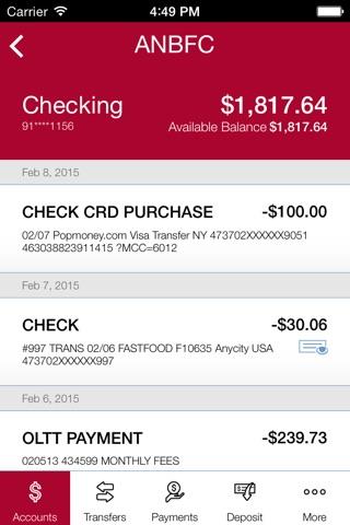 American National Bank Fox Cities screenshot 4