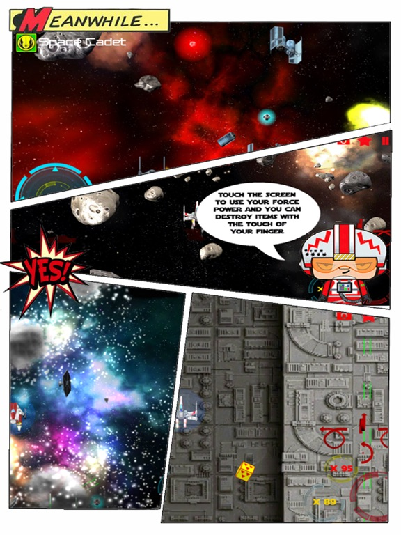 Screenshot #1 for Space Cadets Star Fighter