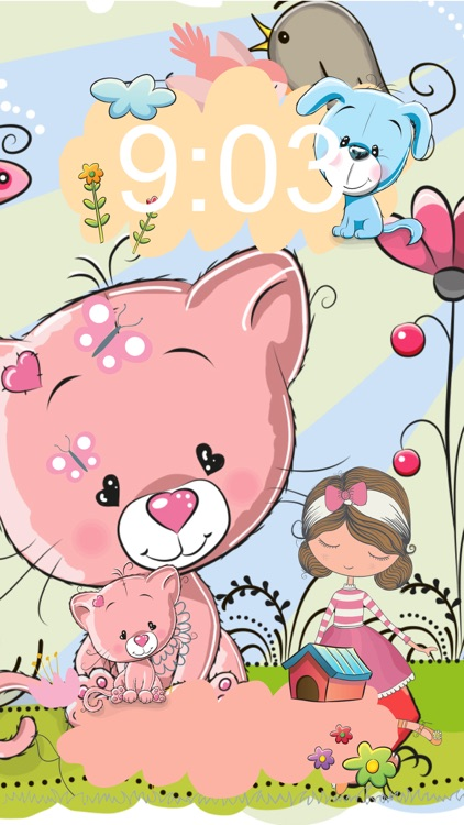 Cute Wallpapers For Girls Free Girly Lock Screen Themes And Beautiful Backgrounds Screenshot 3