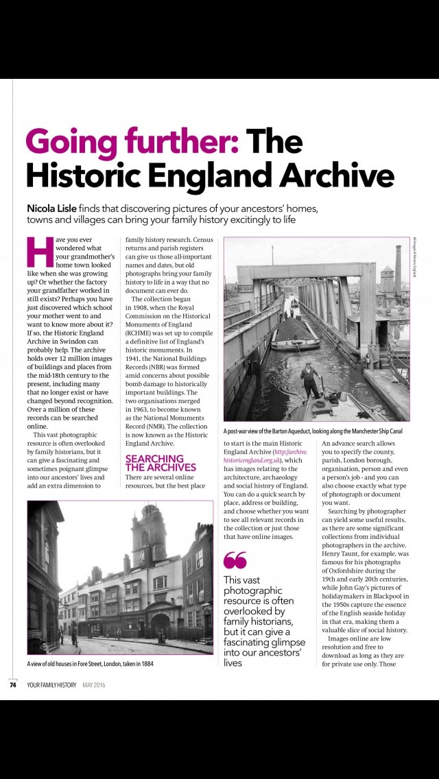 download Your Family History Magazine | genealogy and family tree research advice and tips apps 0