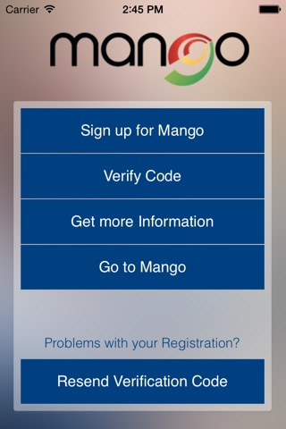 Mango Mobile screenshot 1