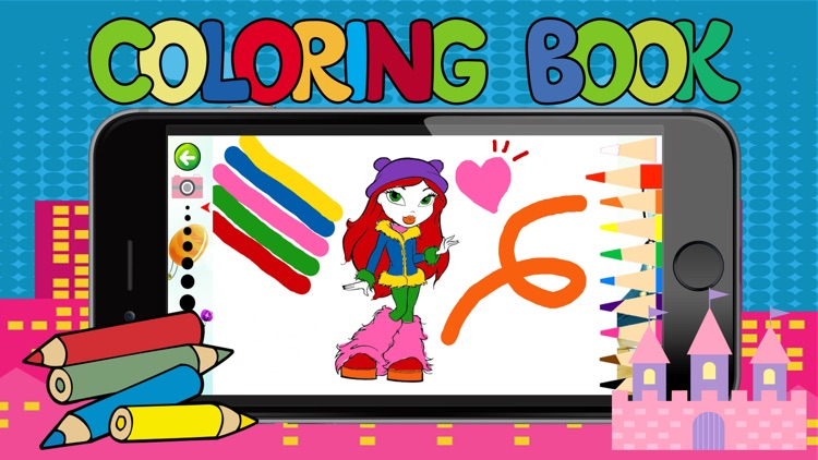 all girl princess games free crayon coloring games for toddlers - Color Games For Toddlers